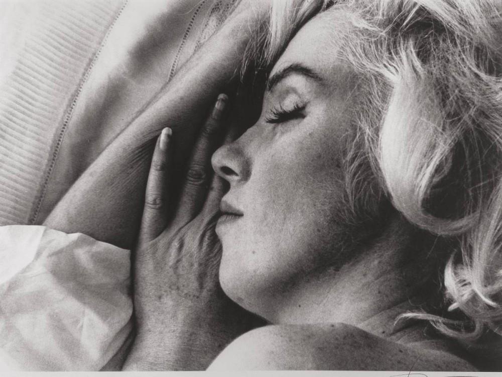 BERT STERN (American, 1929-2013). Marilyn Monroe - Crucifix II, The Last Sitting, 1962